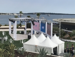 Cannes Lions Health outdoor shot