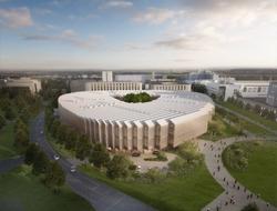 CG image of AstraZeneca's HQ