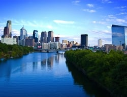 Philadelphia city skyline