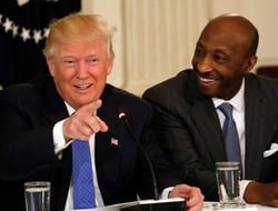 American Manufacturing Council, Trump, Merck, Frazier