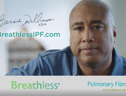 Bernie Williams in Boehringer Ingelheim IPF awareness campaign