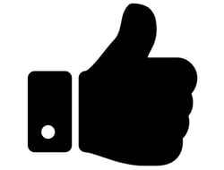 Emoji thumbs up
