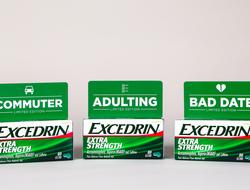 GlaxoSmithKline Excedrin headache cause custom boxes