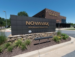 Novavax sign