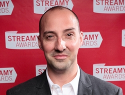 Actor Tony Hale at the Streamy Awards