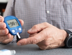 diabetes strip blood glucose monitor