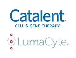 Catalent and LumaCyte Logos