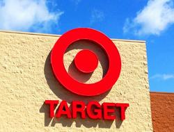 Target bullseye sign