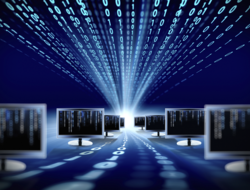 Digital Binary Monitors (Image: iStockPhoto)