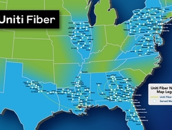Uniti Fiber network (Uniti Group)