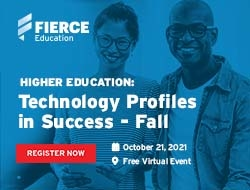 Higher Education: Technology Profiles in Success - Fall