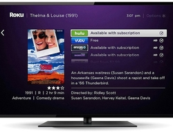 Roku interface with recommendations (Roku)
