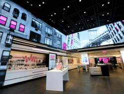 T-Mobile's Signature store in Times Square, NYC
