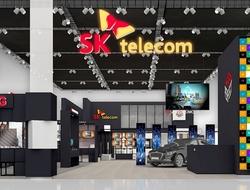 SK Telecom booth at MWC18