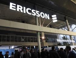 Ericsson booth