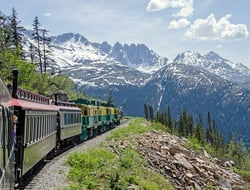 train in Yukon Canada