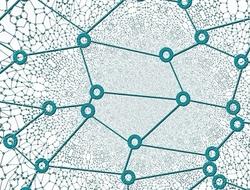 AI network graphic