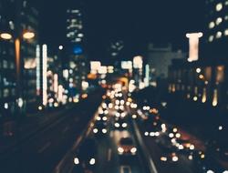 car street lights