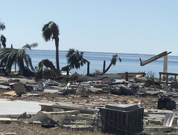 AT&T picture of Hurricane Michael (AT&T)