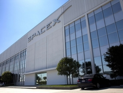 SpaceX building
