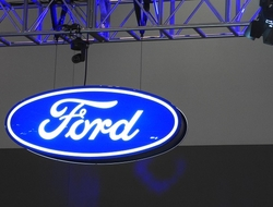 Ford sign at CES