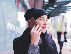 robocalls woman talking on phone