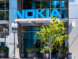 Nokia building logo