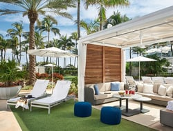 Jeffrey Beers International enhanced the Versailles Tower, while Clausen-Collaborative Interior Design upgraded the poolside cabanas.