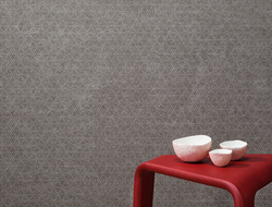 Kirei latched the EchoPanel Mura fabric collection, a wallcovering series made of 60% recycled PET that absorbs sound and adds dynamic design to flat surfaces.