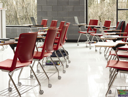 Very is a side and seminar chair designed by Michael Welsh for Haworth.