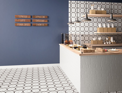 Nemo Tile + Stone launched Aster, a Moroccan-inspired collection of porcelain tile.