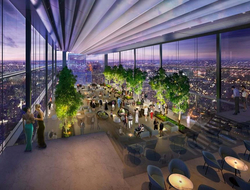 Foster + Partners designs Four Seasons Hotel Philadelphia at city's tallest tower.