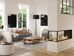 Ortal, manufacturer and designer of gas fireplaces for over 30 years, launched a new line of fireplaces called Lyric.