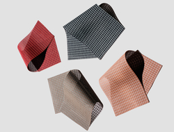 Doshi Levien used a combination of two colors to create visual texture and align the fabrics more closely to the Kettal colorway.