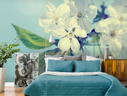 While antibacterial wallpaper prevents the development of bacteria, antimicrobial wallpaper stops bacteria, mold and mildew that breed in moisture.