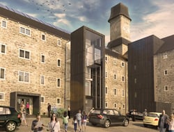 Twelve Architects to convert Bodmin Prison into a hotel, museum and bat sanctuary.