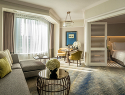 Hirsch Bedner Associates inspired by Singapore Botanic Gardens for renovation of Four Seasons Hotel Singapore.