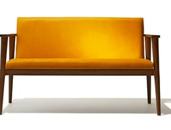 Copenhagen is made of 100% FSC reclaimed teak and leather, and is available in five colors.