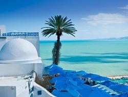 Sidi Bou Said in Tunis, Tunisia
