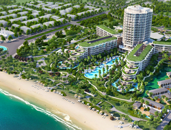 Vo Trong Nghia, Ashley Sutton help design InterContinental Phu Quoc Long Beach Resort in Vietnam.
