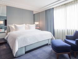 Four Seasons Hotel London at Park Lane, House of Garrard partner to refurbish Ambassador Suites by designer Pierre Yves Rochon.