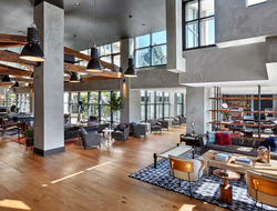 Interior design and branding firm MARKZEFF completed a $28 million revitalization for Joie de Vivre of their property Hotel Kabuki in San Francisco.