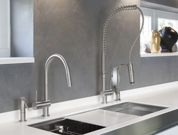 As with all MGS fixtures, Vela is made using stainless steel and is available in three different finishes.