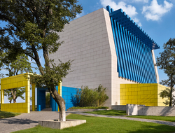 HBA designs Artyzen Sifang recreation center with architecture by Ettore Sottsass.