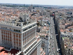 Riu will rebrand and renovate the Edificio España into a 24-floor Riu Plaza hotel with three floors of retail space.