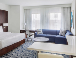 DES-SYN is behind the design of the Residence Inn by Marriott Stamford Downtown.