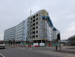 Arora Group's dual-branded Heathrow Terminal 4 airport hotel has entered the final stage of construction.
