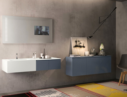 With color options including neutrals to bold hues, Stratos adds subtle or daring color to any bathroom.