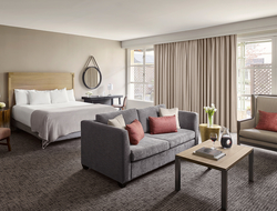 Sonoma's lifestyle inspires Looney & Associates' redesign of Hyatt Regency Sonoma Wine Country.