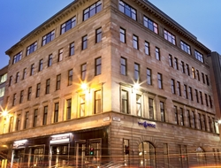 Glasgow's Maven Capital Partners is selling the Hotel Indigo Glasgow in the center of the city's financial services district.